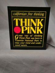 Leuchtschild von Think Pink