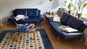2 Echtleder Sofa