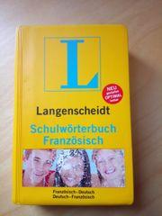 Schulwörterbuch - Französisch von Langenscheidt