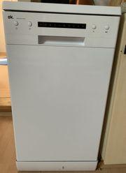 Neuwertige Spülmaschine von OK ODW