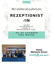 Rezeptionist in