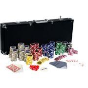 Pokerkoffer Pokerset mit 500 Laserchips
