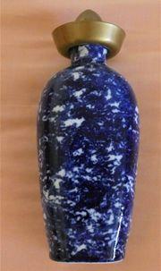 Flasche Zierflasche aus Porzellan mit
