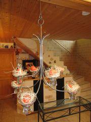 Kerzenleuchter Metall 8 - flammig