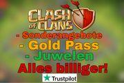 Clash of Clans - Juwelen - Gold Pass-