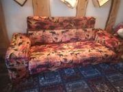 Sofa Afrika Style mit Ottomane