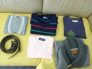KleiderPaket Herren 5 Pullover Gürtel