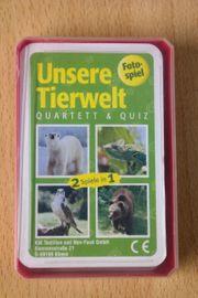 Unser Tierwelt Quartett und Quiz