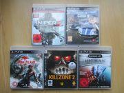 5x PS3 Spiele