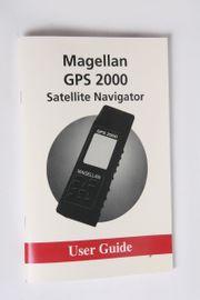 Bedienungsanleitung Magellan GPS 2000 Navigator