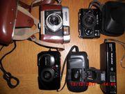 Fotoapparate Rollei Voigtländer Olympus Kodak