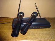 Funk Mikrofonanlage mit 2 Mikrofone