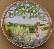 Villeroy Boch Wandteller Jahreszeiten Frühling