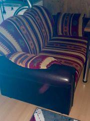 Ledercouch 2 - Sitzer