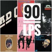 90 Vinyl-LP-Schallplatten GB USA