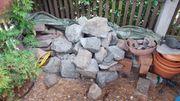 Granit Steine unterschiedliche Größen