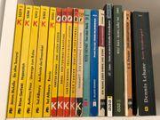 17x Krimi Bücher