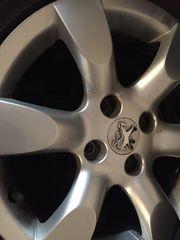 Peugeot 307cc Winterreifen auf Alufelgen