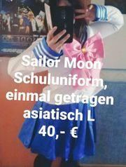 Sailor Moon Schuluniform Cosplay Kostüm
