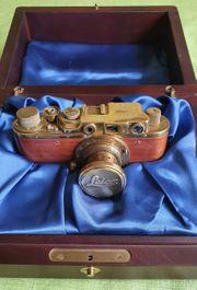 Leica Gold Nachbau mit Holzbox