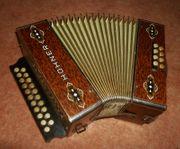 Akkordeon HOHNER Harmonika Wiener 21