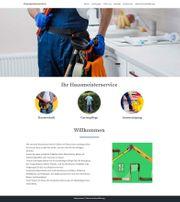 Webseite für Hausmeisterservice zu verschenken