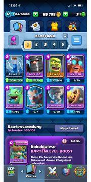Clash Royale LVL 12 Account