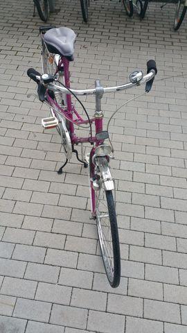 Bild 4 - RaBeneick pinkes Damenfahrrad 28 Zoll - Karlsruhe Mühlburg