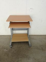Pc Tisch m Rollräder Computertisch