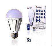 5x LED 10W E27 Leuchtmittel