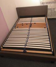 Bett Kunstleder 140 200