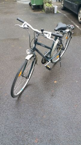 Damen-Fahrräder - Peugeot Florence grünes 28 Zoll