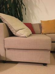 Eckbettsofa mit Bettkasten