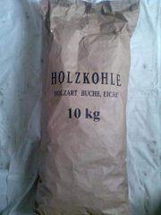 Holzkohle Buche Eiche 10 kg