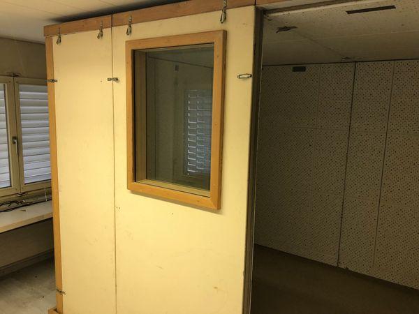 Studiobox mit Lüftung 2 Fenster