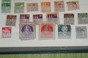 Briefmarken 8 Alben und 1