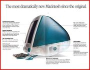 APPLE iMAC G3 Indigo ca