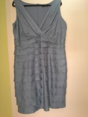 Sixth Sense Kleid silber-blau Größe