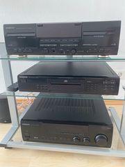 Kenwood Stereoanlage inkl 2 Canton