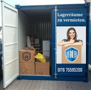 Lagercontainer Lagerraum Mietlager Stellplatz Garage