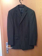 Anthraziter Anzug Größe 46 einmal