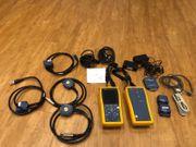 Fluke DTX 1800 umfangreiche Ausstattung