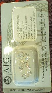 46 Diamanten mit insgesamt 1