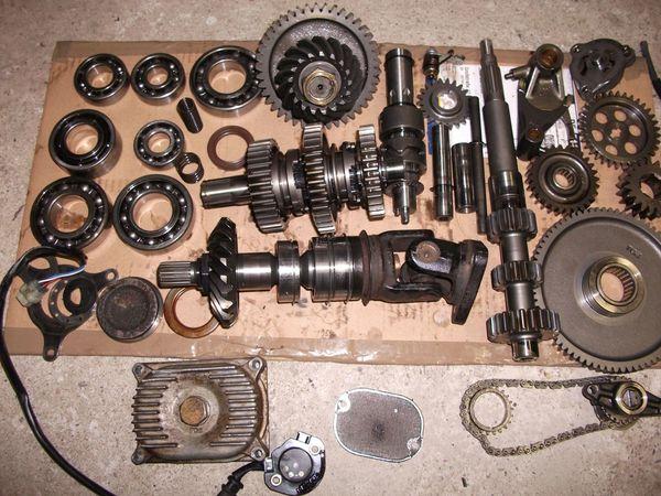 TGB 525 550 4x2 getriebe