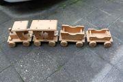 Holzeisenbahn Maxi-Sehr groß- Eisenbahn- mit