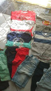 19-Teiliges Bekleidungspaket für Jungs Größe