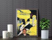 Beatle PAUL MCCARTNEY Kunstdruck mit
