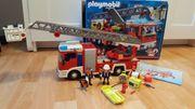 Playmobil Feuerwehr Leiterwagen mit RC-Modul