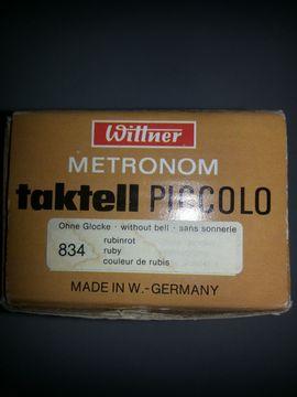 Bild 4 - Taktell - Metronom von Wittner rubinrot - Mutterstadt