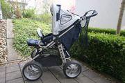 Kombi- Kinderwagen Hartan Racer Bremse